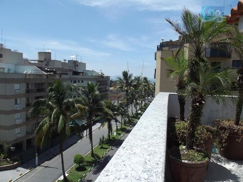 Imagem 1 de 21 de Cobertura À Venda, Praia Da Enseada - Guarujá - Co0240