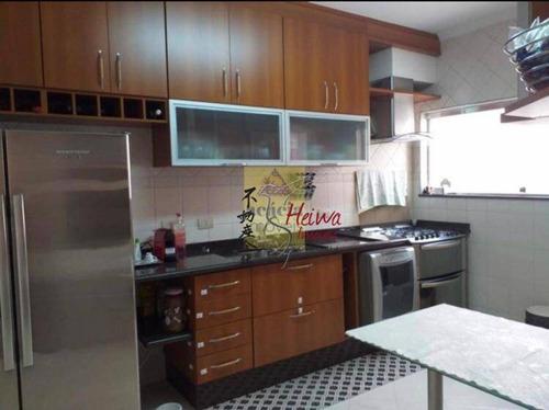 Casa Com 3 Dormitórios À Venda, 230 M² Por R$ 1.060.000,00 - Vila Fiat Lux - São Paulo/sp - Ca1245
