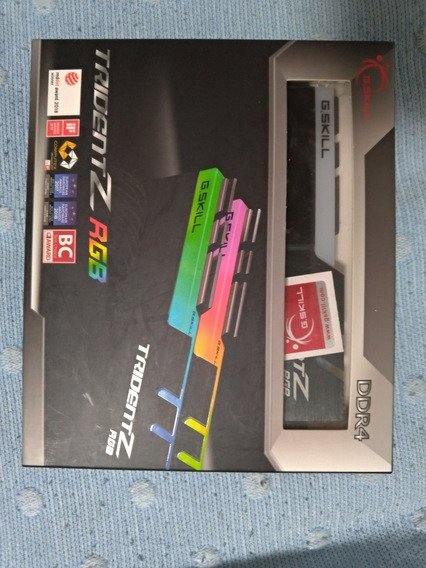 Memórias Ddr4 3200 Cl14 16gb (8x2gb) G-skill Trident Z B-die