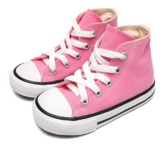 Tênis Converse All Star Rosa Ck00030006 Original C/nf