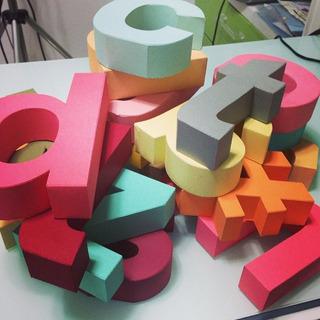 Letras 3d Archivos De Corte Silhouette Deseño
