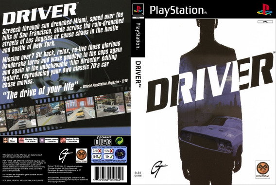 Driver Collection - Playstation 1 - Patch - 3 Discos