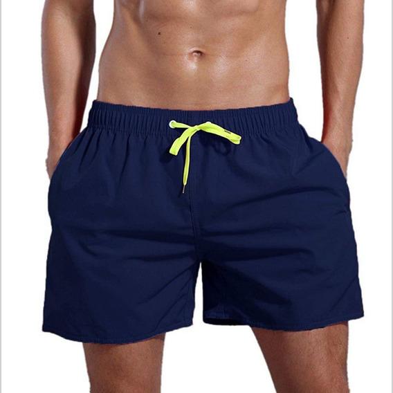 Pantalón Corto D/playa Traje D/baño D/secado Rápido P/hombre