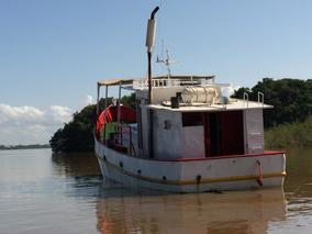 Barco Pesquero De Acero