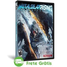Metal Gear Rising Pc Revengeance Mídia Física Português Dvd