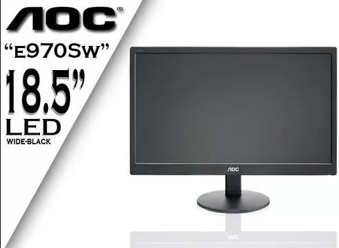 Monitor Aoc Led Preto E970sw Vga