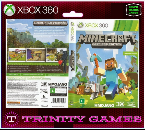 Minecraft - Jogo Para Download Da Live Xbox