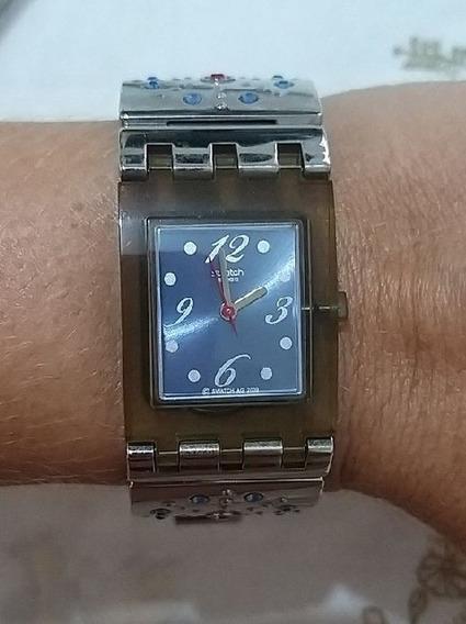 Relógio Swatch Com Defeito Na Máquina Do Relógio