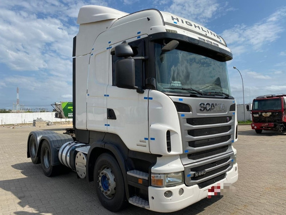 Scania R440 Highline Trucado 6x2 Ano 2013 Lindo