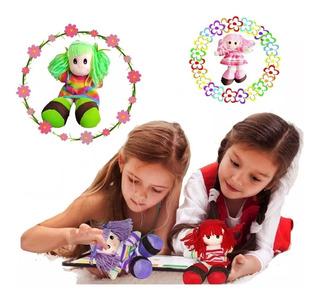 Muñeca Trapo Infantil Juguete Didactico Colores Jugueteria