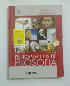 Fundamentos De Filosofia- Ed Saraiva 3° Edição