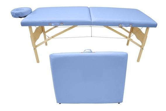 Maca De Massagem Portátil Com Altura Fixa Vegga - Legno