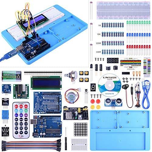 Uno Kit De Inicio Para Arduino, Arduino Uniroi Kit Completo