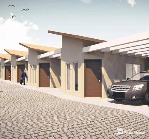 Casa Com 2 Dormitórios À Venda, 50 M² Por R$ 200.000,00 - Estância Poços De Caldas - Poços De Caldas/mg - Ca0486