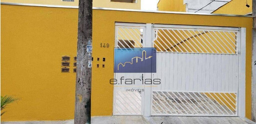 Sobrado Com 2 Dormitórios À Venda, 80 M² Por R$ 285.000,00 - Parque Savoy City - São Paulo/sp - So0664