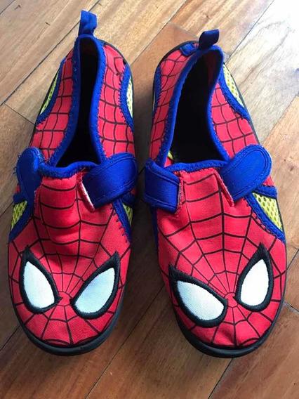 Calzado Hombre Araña Importado Marvel Disney Unisex