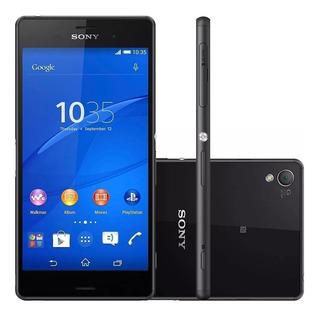Celular Smartphone Sony Xperia Z3 Plus Vitrine Original