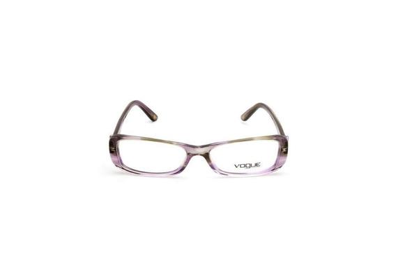 Oculos De Grau Feminino Vogue Acetato Transparente Roxo