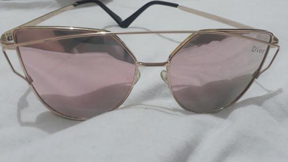 Óculos De Sol Dior Original Espelhado Rosé