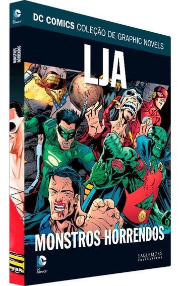 Coleção Oficial De Graphics Novels Dc Edição 100 Monstros Ho