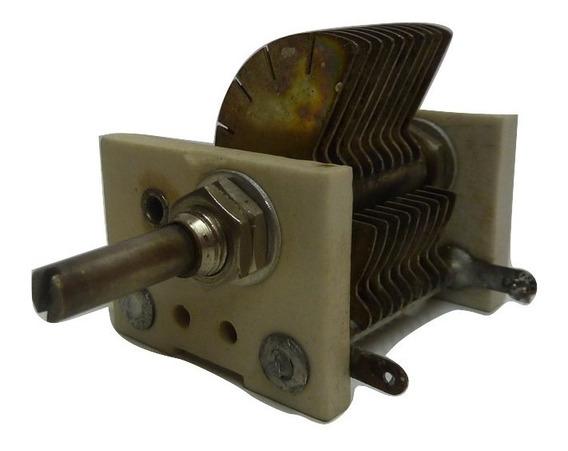 Capacitor Variable 100 P F A 5 P F - Para Transmisión