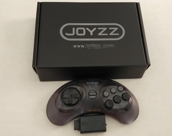 Controle Original Krikzz Joyzz Wireless No Estojo