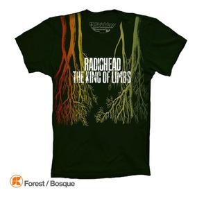 Radiohead Playeras The King Of Limbs Camiseta
