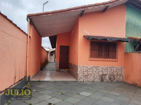 Entrada R$ 34 Mil + Saldo Super Facilitado. Casa Com 2 Dormitórios À Venda, 65 M² Por R$ 170.000 - Verde Mar - Mongaguá/sp - Ca3614