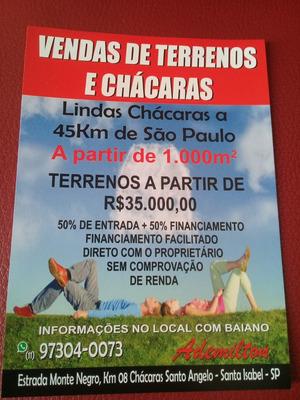 Lindas Chácaras A 45 Km De São Paulo