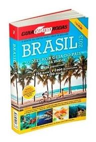 Guia Turístico 4 Rodas Brasil 2013 956 Páginas + Mapão Abril
