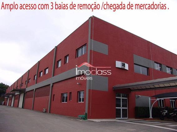 Galpão Industrial Para Venda E Locação, Granja Viana, Cotia. - Ga0015
