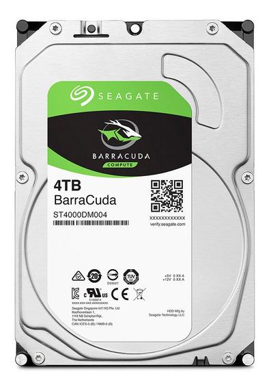 Seagate Barracuda 4tb Hd Interno 3.5