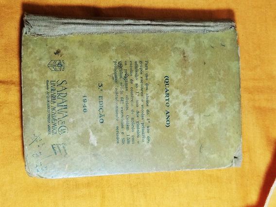 Livro Antigo De Aritmética