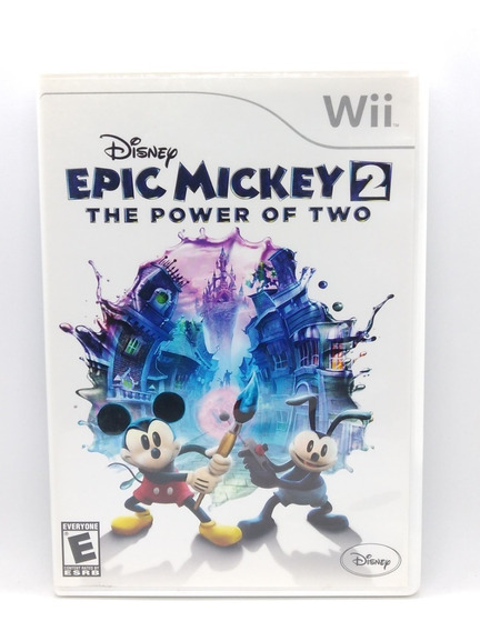 Epic Mickey 2 The Power Of Two Nintendo Wii Midia Fisica