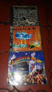 Cds. Woodstock 69, 94 (doble) Y 99 (doble Box Deluxe)