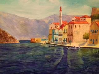 Pintura Al Óleo Sobre Madera