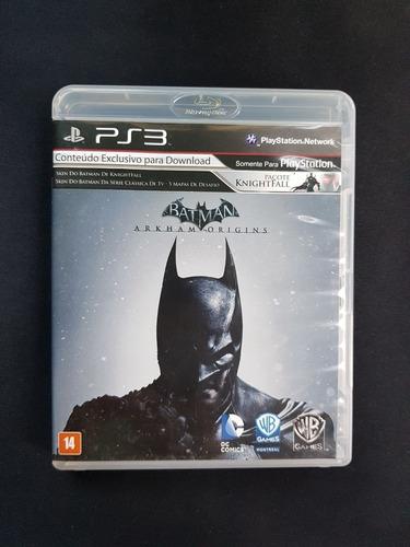 Imagem 1 de 3 de Batman Arkham Origins Ps3