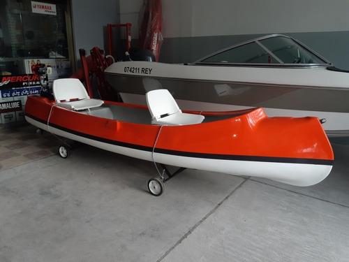 Canobote Mdp 3.85 Premium C/ Motor 2.6 Hp 2t Año 2020