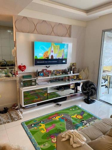 Imagem 1 de 30 de Apartamento Com 3 Dormitórios À Venda, 101 M² Por R$ 600.000 - Dom Pedro - Manaus/am - Ap2787
