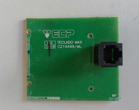 Placa Teclado Max C216499/00 Sucata