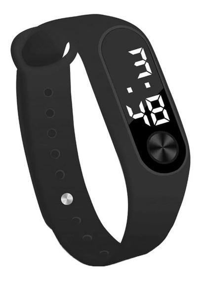 Relógio Digital Led Esportivo Masculino Feminino Barato