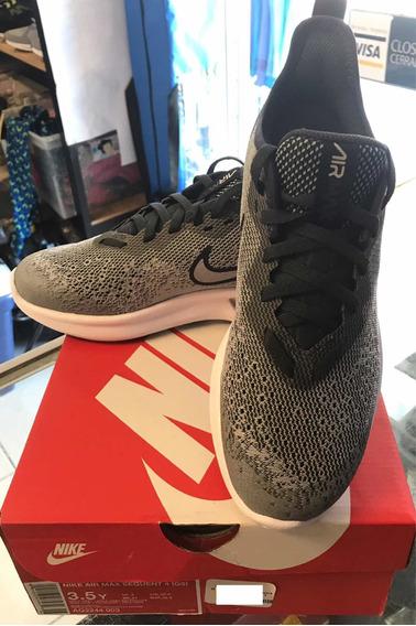Tenis Nike Air Max Sequent 4 Gs Gris 22.5 Cm Aq2244 003