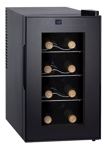 Enfriador De Vinos Punktal De 8 Botellas Ambiente Controlado