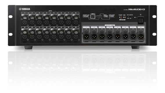 Interface Rack Para Mesa De Som Yamaha Rio 1608 D