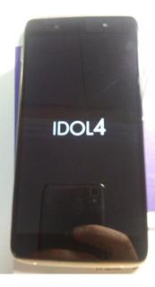 Celular Alcatel Idol 4 6055b Preto/dourado Novo Leiamanuncio