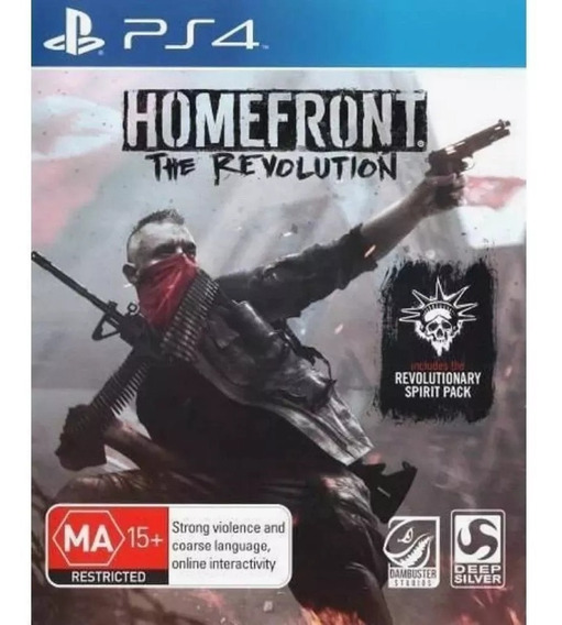 Homefront The Revolution Ps4 Mídia Fisica Lacrado!