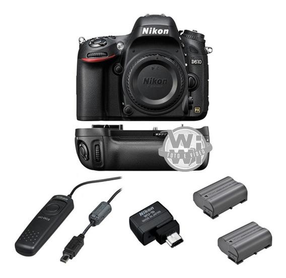 Kit De Câmera Nikon D610 (corpo Usado)