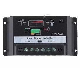 Controlador De Carga 30a Digital Cmtpo2 Solar Pwm