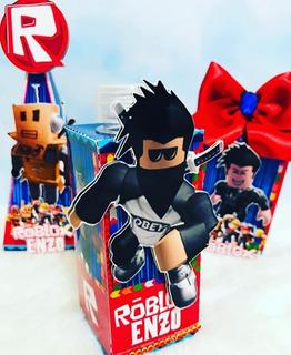 Kit Imprimible Roblox Candy Bar Diseños Cajas Corte Cameo