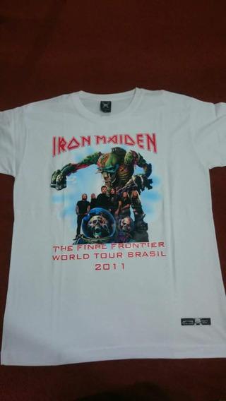 Camiseta Iron Maiden - Novas